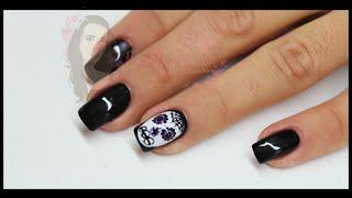 Nail Art - Halloween teschio messicano Thumbnail