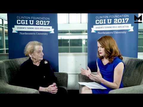 #AskAMogul: Interview with Secretary Madeleine Albright