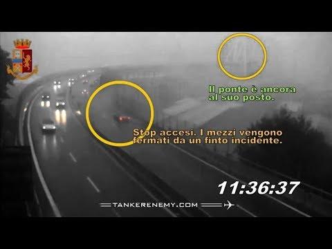 Il ponte Morandi è crollato 4 minuti dopo il timing dichiarato