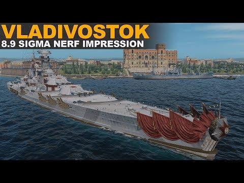 Vladivostok 8.9 Sigma Nerf Impression