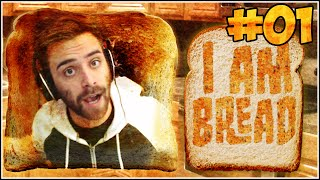 "Shady Steams w/ ShadyPenguinn: I Am Bread GamePlay #01 ""Frustration and ROCKET CHIPS!"""