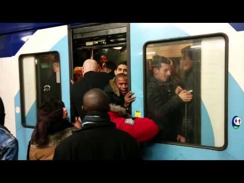 Incidents sur RER D le 25/02/2014 à Villeneuve