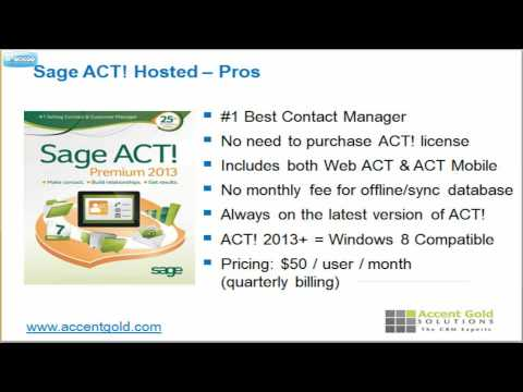 Sage ACT Tutorial And Review