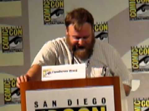 Adventure Time Ice King Radio Drama at San Diego Comic Con 2012.MOV
