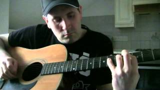 Testing my new acoustic hohner guitar