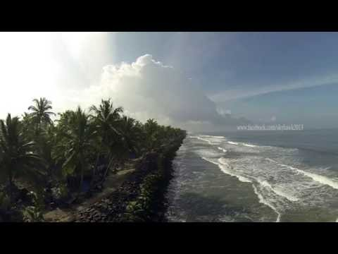 Aerial Photography and Videography In India. (Chellanam Beach and harbor, Kochi, Kerala)