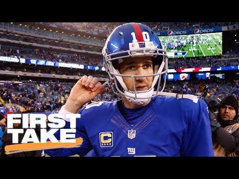First Take Debates The Comparison Of Eli Manning To LeBron James | First Take | July 17, 2017