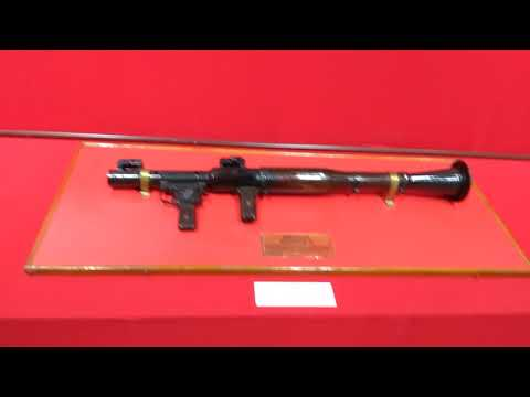 Bangladesh national Museum|Weapons used during the liberation war in the year of 1971.