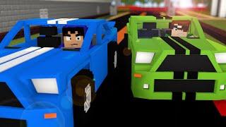 Minecraft: SUPER CARROS NO MINECRAFT! (Mapa)