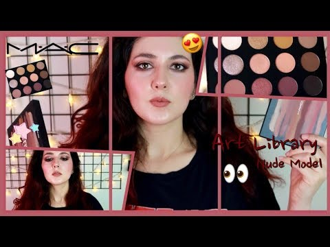 MAC Art Library | Nude Model Eyeshadow Palette Tutorial thumbnail