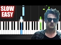 Images Charlie Puth - We Don't Talk Anymore (feat. Selena Gomez) - SLOW EASY Piano Tutorial by PlutaX