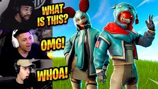 STREAMERS REACT TO *NEW* FLAPJACKIE & GROWLER SKINS - Fortnite Best & Funny Moments #219
