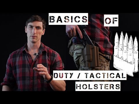 Basics of Duty / Military / Tactical Holsters