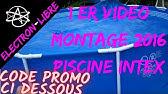 Intex Questions Partages Des Infos Sur La Piscine Tubulaire Youtube