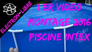 INSTALLATION PISCINE TUBULAIRE INTEX