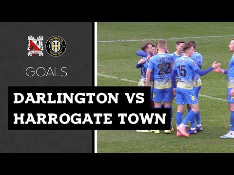 Darlington Harrogate Goals And Highlights