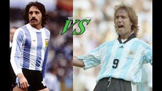 Argentine Strikers ♦ Leopoldo Luque vs Gabriel Batistuta