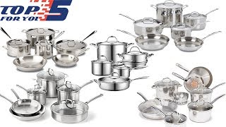 Top 5 Best Stainless Steel Cookware Sets of 2018