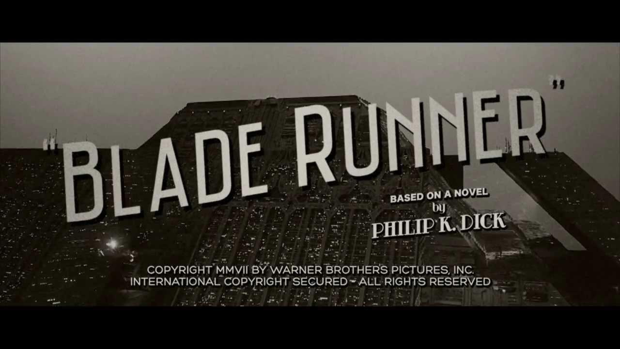 Blade Runner Trailer - Classic Noir