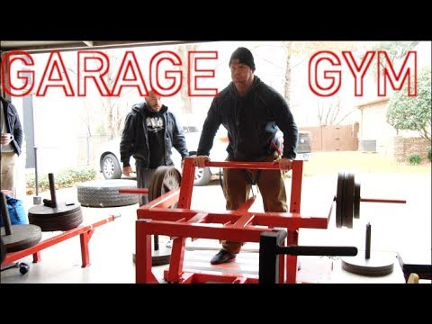 Garage gym training video elite fts
