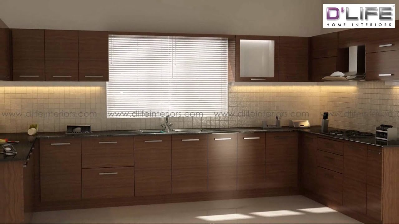 Modern kitchen and wardrobes package from d life home for Modern kitchen designs in kerala