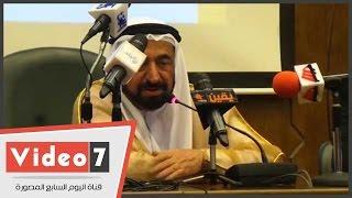 بالفيديو.. سلطان القاسمى: تحدثنا مع السيسى عن مشروع تنويرى لمكافحة خفافيش الظلام