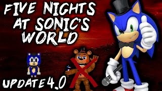 FIVE NIGHTS AT SONIC'S WORLD [UPDATE 4.0]