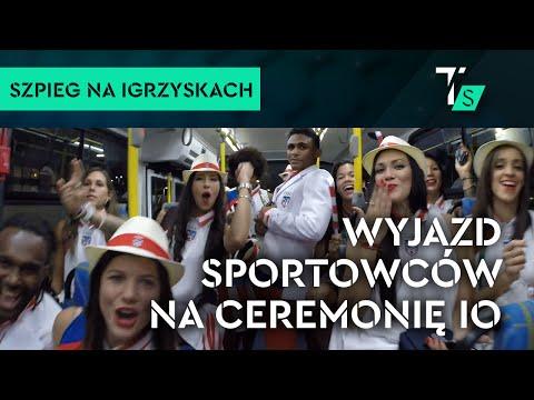 Kulisy z wioski olimpijskiej: wyjazd sportowców na ceremonię otwarcia IO