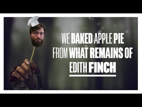 We baked Apple Pie from What Remains of Edith Finch