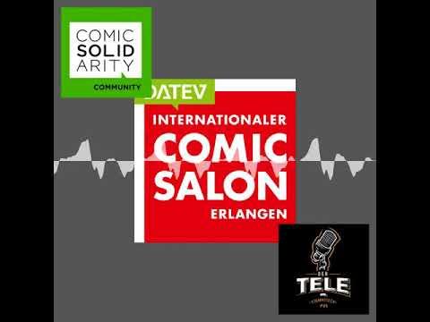 Pre-Show - 18. Internat. Comic Salon Erlangen mit Eve Jay - Der  Tele-Stammtisch Special 017 #cse18