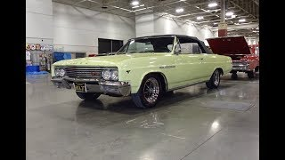 1965 Buick Skylark Gran Sport Convertible in Yellow & Engine Sound - My Car Story with Lou Costabile