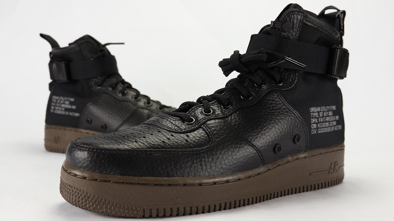 Nike SF AF1 Mid Hazel Review + On Feet - YouTube ffd962e008