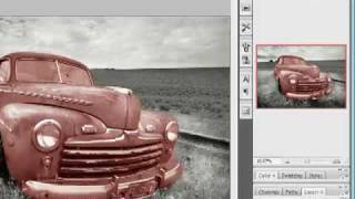 Как раскрасить черно-белое фото(Учимся разукрашивать черно-белую фотографию., 2010-01-25T20:57:56.000Z)