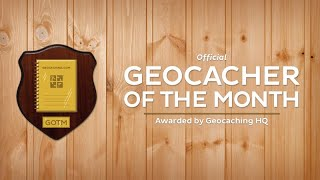 I WON THE GEOCACHER OF THE MONTH!!! Thumbnail