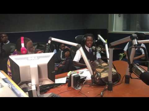 """Imhotep Academy Ambassadors and Dr. F. Keith Slaughter on """"The Movement Next-G"""""""