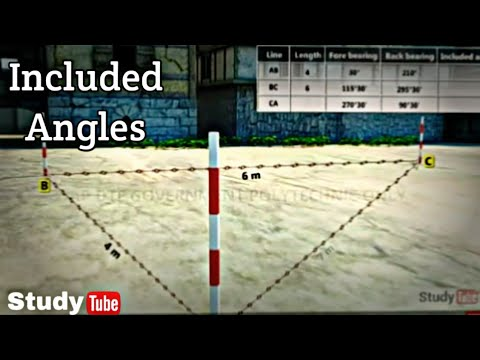 Calculation Of Included Angles /StudyTube