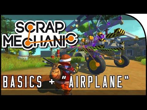 "scrap-mechanic-gameplay---""the-basics/tutorial,-airplane-attempt!""-(part-1)"