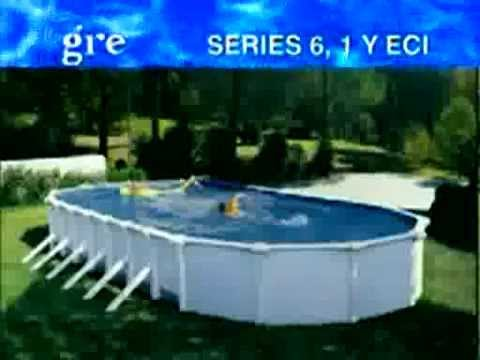 montage piscine hors sol acier ovale youtube. Black Bedroom Furniture Sets. Home Design Ideas