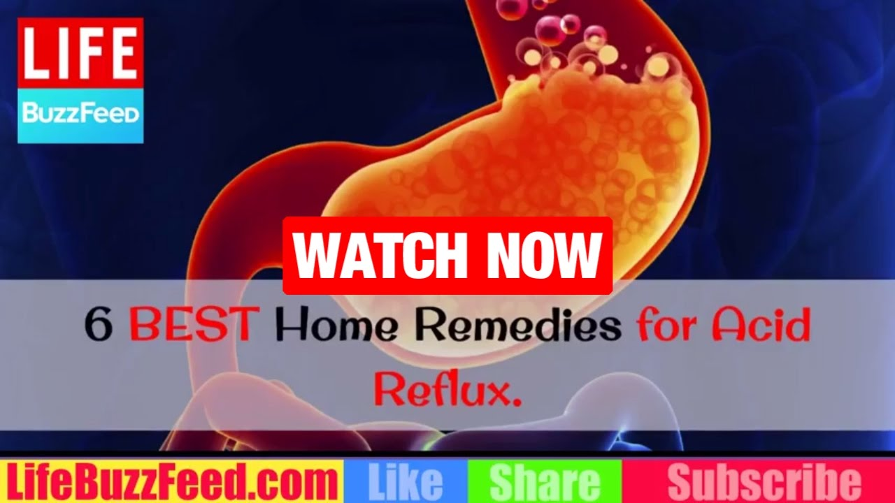 6 Home Remedies for Acid Reflux That Relieve Heartburn Fast