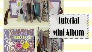 Tutorial Mini Album Scrapbook | Luisa PaperCrafts