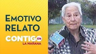 Abuelita transportista se emocionó por protestas en medio de crisis en Chile - Contigo en La Mañana