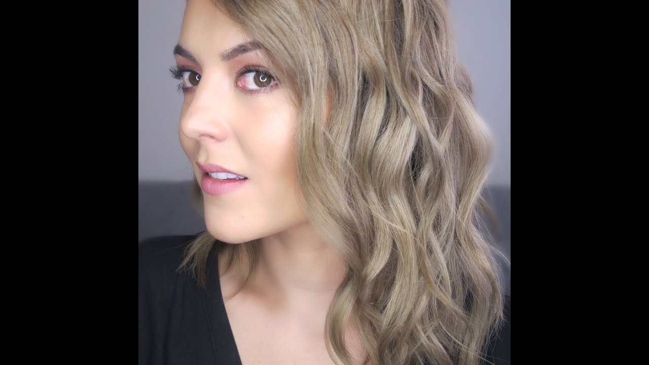Como Hacer Ondas Playeras Beach Waves En Un Corte Tipo Lob Long