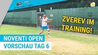Vorschau Tag 6 mit Alexander Zverev und Roger Federer | Noventi Open | myTennis