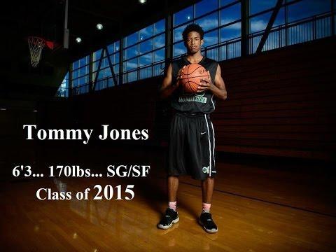 Tommy Jones - Basketball Highlights 2014 - 2015... Class of 2015