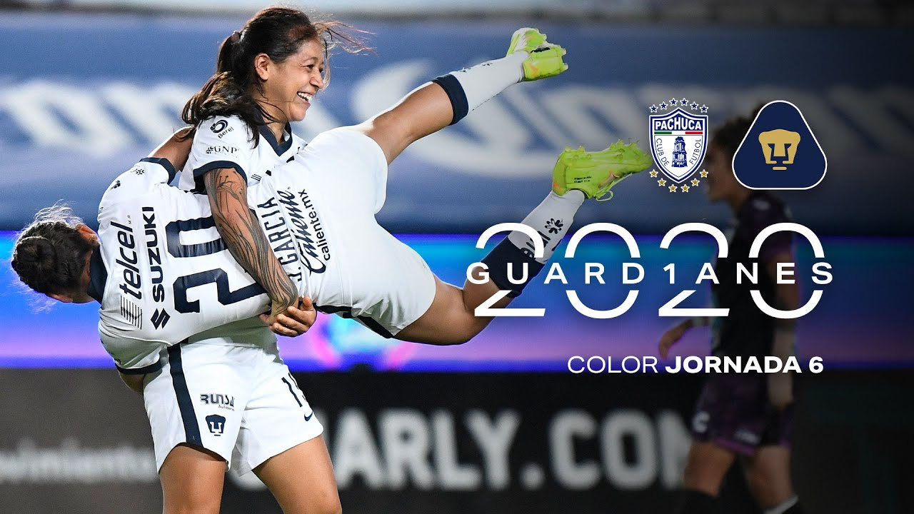 libertad Abastecer izquierda  Liga MX Femenil   Color - Pachuca vs. Pumas - YouTube