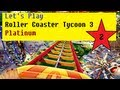 Let's Play Rollercoaster Tycoon 3 Platinum Part 2 - Our first coaster! YIPEE!!