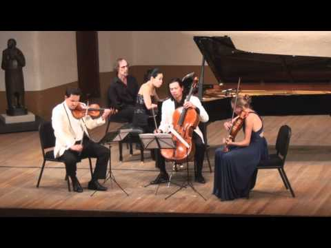 Lowell Liebermann Quartet for Piano and Strings Op. 114 | J. Yang, G. Schmidt, L. Francis, F. Fan