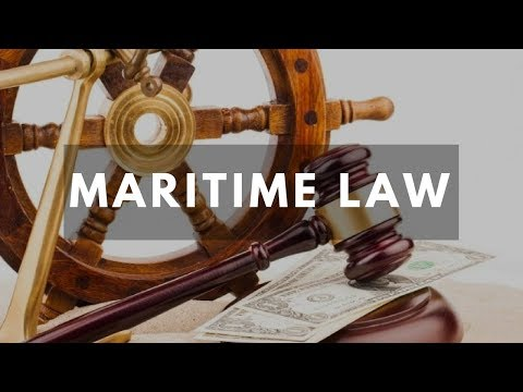 Admiralty law Pt.1