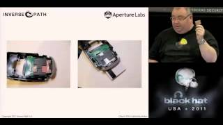 BlackHat 2011, Chip & PIN is definitely broken: Credit Card Skimming and PIN Harvesting in an AMV..