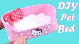 DIY Miniature Hello Kitty Pet Dog Bed
